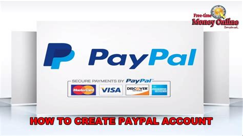 make a paypal account with debit card how to create a paypal account without credit or debit card