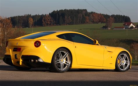 Supercar Wallpaper Yellow by F12 Berlinetta Supercar Yellow Roads Wallpaper