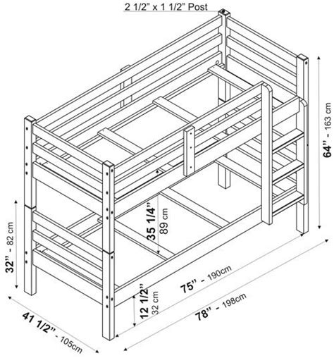 dimensions of bunk beds bunk bed dimensions inspiring with image of bunk bed
