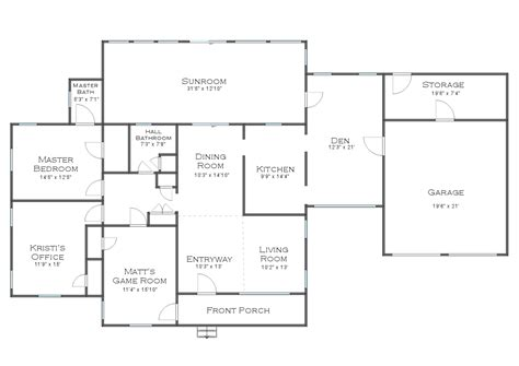 floor plans homes the finalized house floor plan plus some random plans and ideas