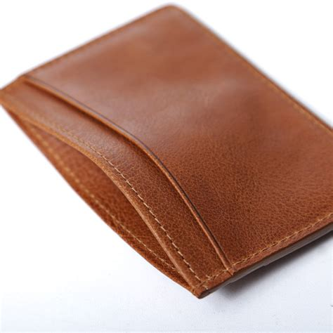 how to make a leather card holder a p c leather card holder the carry