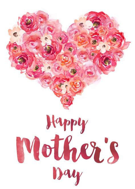mothers day card free printable s day cards the cottage market