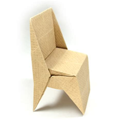 how to make an origami chair how to make an origami chair with triangular legs page 1
