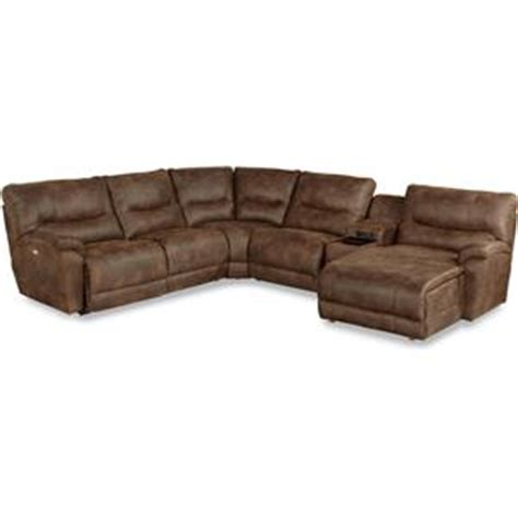 la z boy sectional sofa la z boy dawson casual five reclining sectional sofa