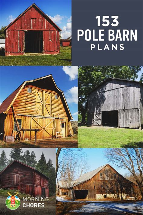 barn plans designs 153 pole barn plans and designs that you can actually build