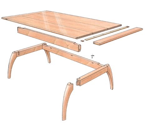 free woodworking plans coffee table free plan mahogany coffee table finewoodworking