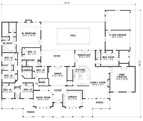 house plans with large bedrooms 6 bedroom ranch house plans new best 25 6 bedroom house plans ideas only on new home