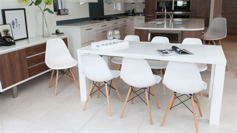 dining room tables white fern white gloss extending dining table danetti uk