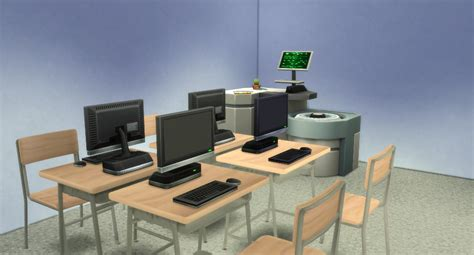 my school desk my sims 4 school desk and chair by westwoodsims