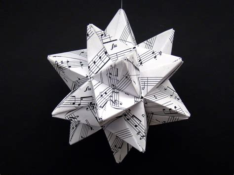 1 sheet origami modular origami recycled sheet by