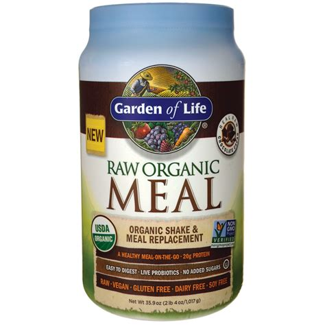 Garden Of Chocolate Meal Garden Of Organic Meal Shake Meal Replacement