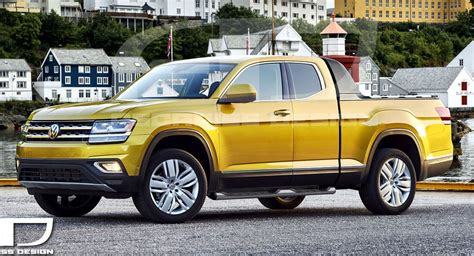 New Volkswagen Truck by Vw Atlas Concept Tipped To Debut At New York Auto