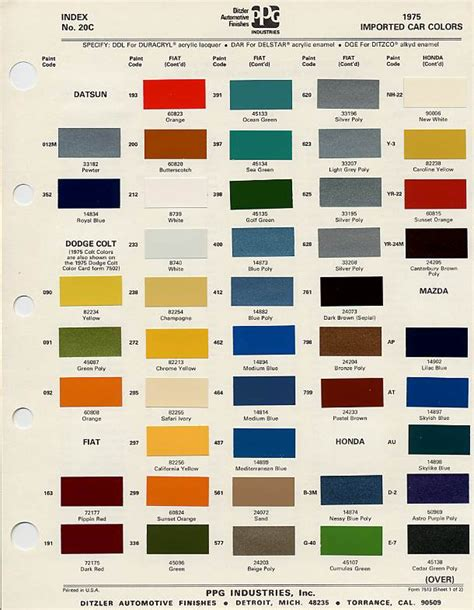 paint colors and codes auto paint codes xweb discussion forum n54 paint
