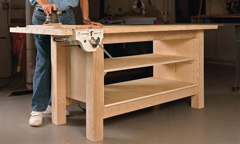 woodworking workbench plans free bench design