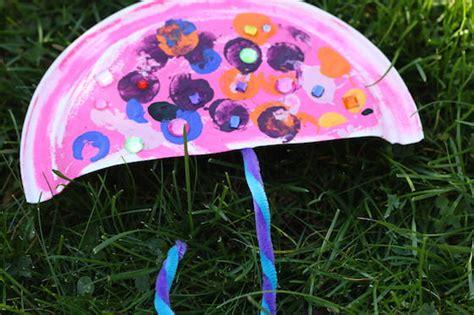 paper plate umbrella craft paper plate umbrella craft happy hooligans