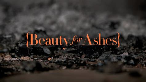 from ashes for ashes daystar