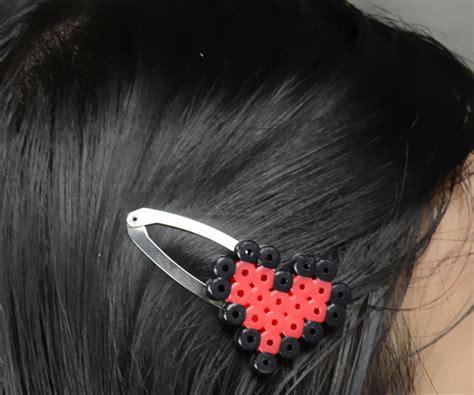 perler bead hair accessories perler bead hair family crafts
