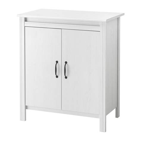 brusali cabinet brusali cabinet with doors white ikea