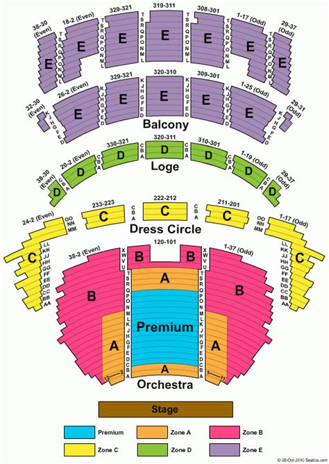 Cadillac Theater Seating by Seating Chart Palace Theater Brokeasshome