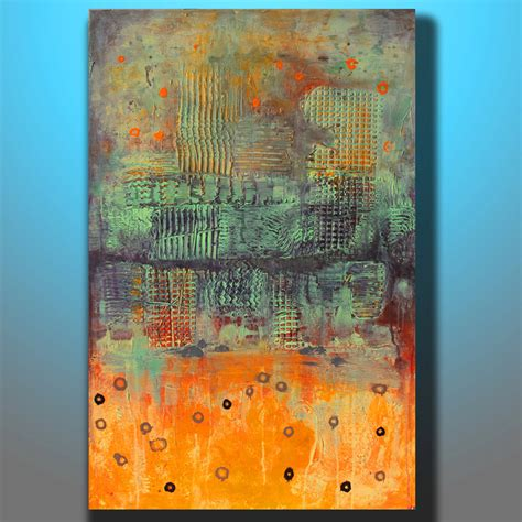 how to paint acrylic on canvas in abstract abstract painting landscape painting acrylic by
