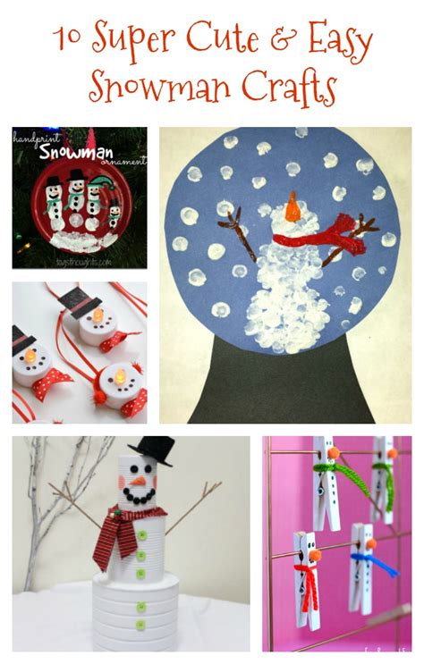 winter crafts for to make easy 10 and easy snowman crafts re fabbed