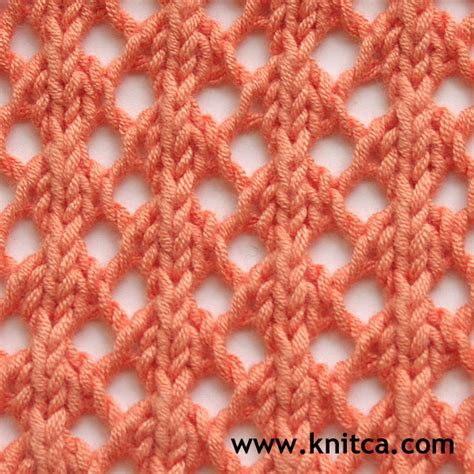 knitting stitches easy knitca 5 beautiful lace stitches for summer knits