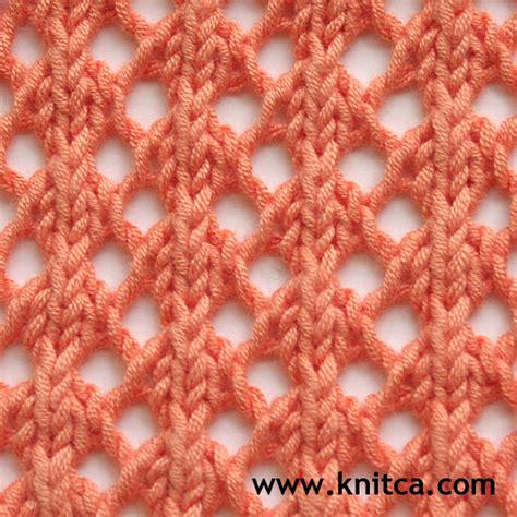 easy lace knitting patterns knitca 5 beautiful lace stitches for summer knits
