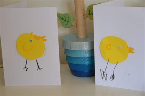 easter cards to make for children easy easter cards for