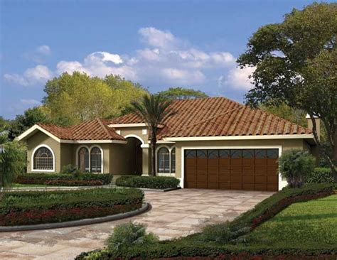 exterior house paint colors one story this one story mediterranean style waterfront home has a