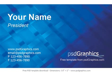 how to make visiting card modern business card psdgraphics