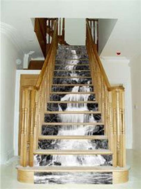 stairs decorations 20 diy wallpapered stair risers ideas to give stairs some