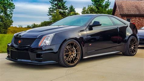 2010 Cadillac Cts V Coupe For Sale cole matthews s 2011 cadillac cts v coupe on wheelwell