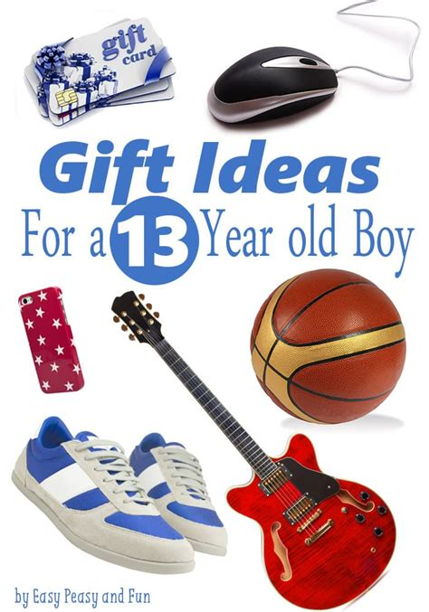 12 year gifts best gifts for a 13 year boy easy peasy and