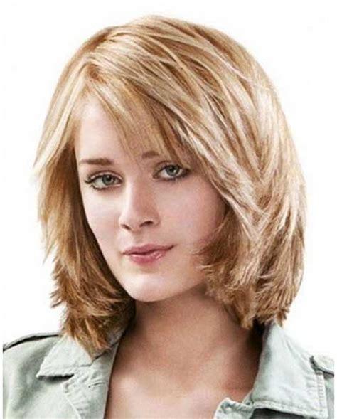 layered medium lenght hair with bangs 15 medium length bob with bangs bob hairstyles 2017