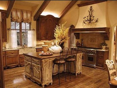 provincial kitchen ideas country kitchen decor combines charm and rustic