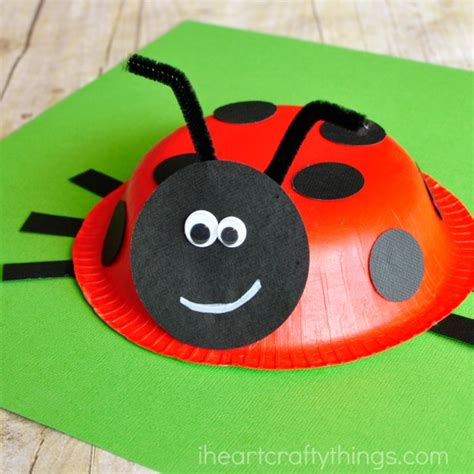 ladybug crafts for paper bowl ladybug craft i crafty things