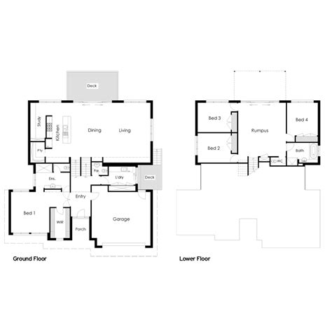 house plans for sloping blocks house floor plans sloping blocks home design and style