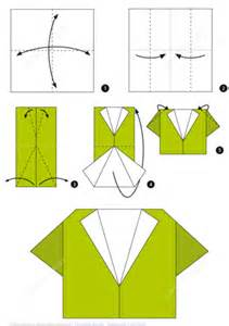 origami step by step how to make an origami shirt step by step
