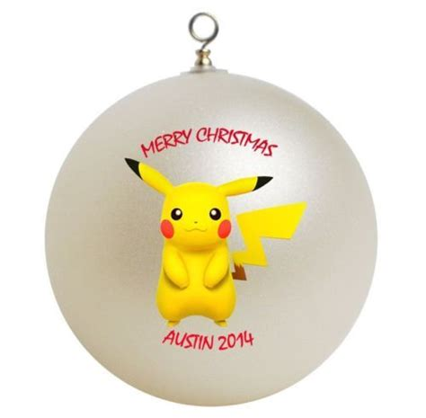 clifford the big ornament details about personalized pikachu