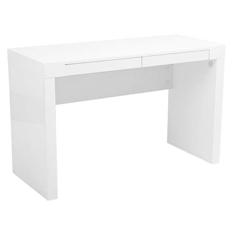 modern white desks modern desks downey desk eurway modern furniture