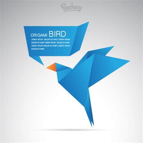origami bird template blue origami bird peecheey