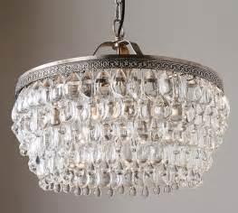 clarissa chandelier clarissa drop chandelier pottery barn
