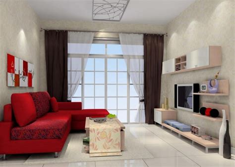 Living Rooms With Grey Sofas by Living Room Interior Design Red Wall Sofa White Lighting