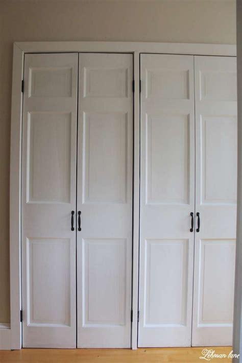 bifold closet door ideas best 25 closet door makeover ideas on bedroom