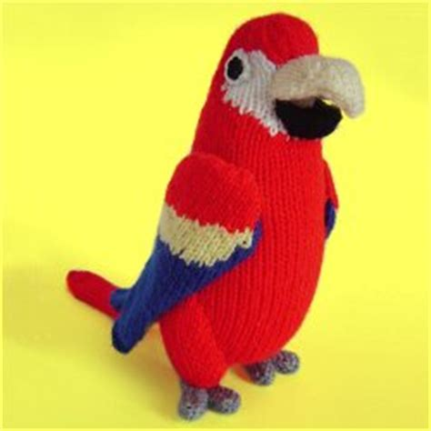 parrot knitting pattern free clare scope farrell novelty knitting patterns news