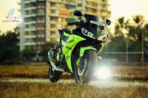 R15 V2 0 Modification by Yamaha Yzf R15 Modification Yamaha Yzf R15 V2 Green Black