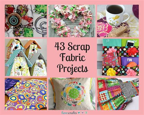 crafting projects 43 scrap fabric projects favecrafts