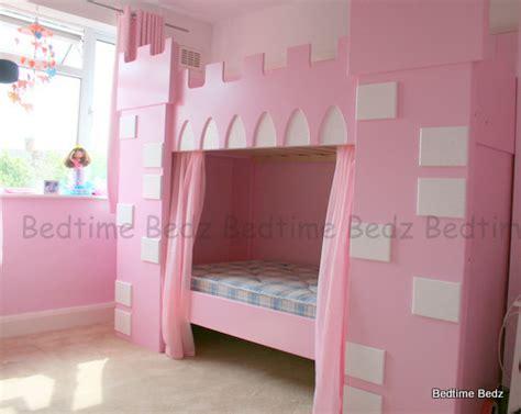 princess castle bunk beds princess castle theme bunk or cabin bed bedtime bedz