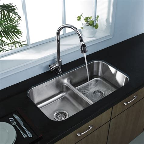 metal kitchen sinks 20 quot au courant quot stainless steel sinks abode