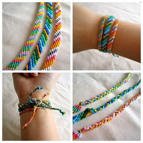 how to make string jewelry how to make a friendship bracelet